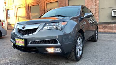 2012 Acura MDX for sale at Rocky's Auto Sales in Worcester MA
