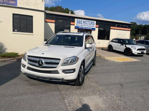 2014 Mercedes-Benz GL-Class for sale at S & S Motors in Marietta GA