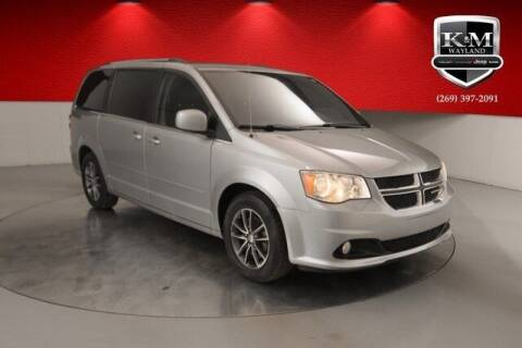 2017 Dodge Grand Caravan for sale at K&M Wayland Chrysler  Dodge Jeep Ram in Wayland MI