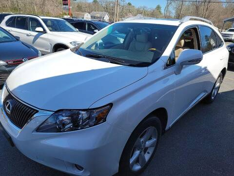2010 Lexus RX 350 for sale at Top Quality Auto Sales in Westport MA