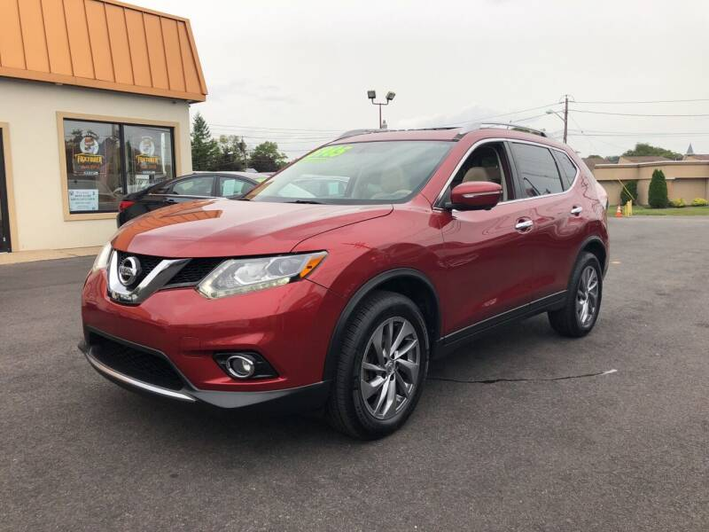 2015 Nissan Rogue for sale at Majestic Automotive Group in Cinnaminson NJ