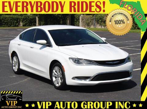 2015 Chrysler 200 for sale at VIP Auto Group in Clearwater FL