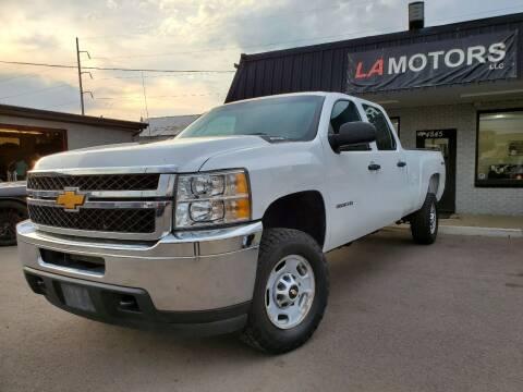 2012 Chevrolet Silverado 2500HD for sale at LA Motors LLC in Denver CO