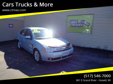 2008 Ford Focus for sale at Cars Trucks & More in Howell MI