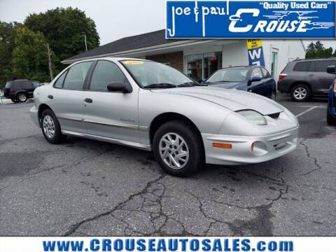 2002 Pontiac Sunfire for sale at Joe and Paul Crouse Inc. in Columbia PA