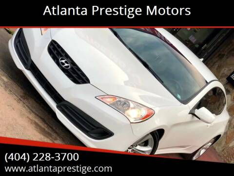 2012 Hyundai Genesis Coupe for sale at Atlanta Prestige Motors in Decatur GA