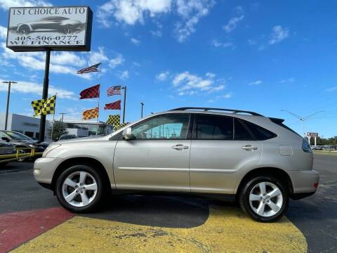 2006 Lexus RX 330 for sale at 1st Choice Auto L.L.C in Oklahoma City OK