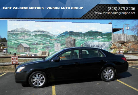 2006 Toyota Avalon for sale at EAST VALDESE MOTORS / VINSON AUTO GROUP in Valdese NC