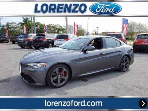 2018 Alfa Romeo Giulia for sale at Lorenzo Ford in Homestead FL