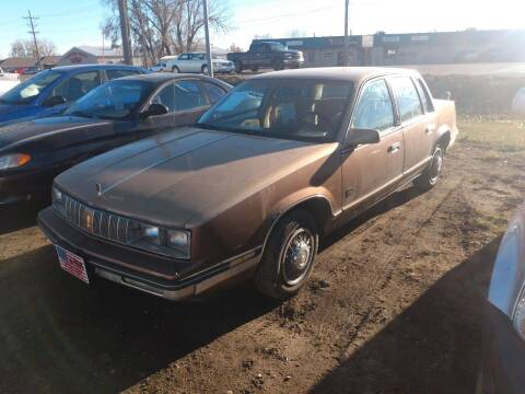 1986 Oldsmobile Cutlass Calais for sale at L & J Motors in Mandan ND
