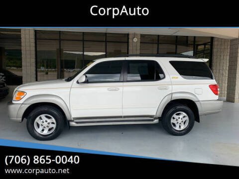 2003 Toyota Sequoia for sale at CorpAuto in Cleveland GA