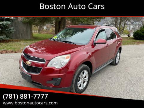 2012 Chevrolet Equinox for sale at Boston Auto Cars in Dedham MA