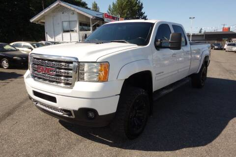 2012 GMC Sierra 3500HD for sale at Leavitt Auto Sales and Used Car City in Everett WA