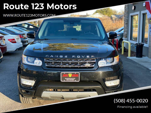 2014 Land Rover Range Rover Sport for sale at Route 123 Motors in Norton MA