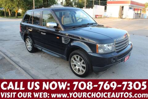 2008 Land Rover Range Rover Sport for sale at Your Choice Autos in Posen IL