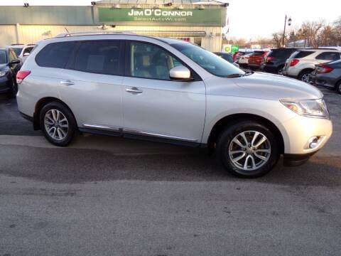 2014 Nissan Pathfinder for sale at Jim O'Connor Select Auto in Oconomowoc WI