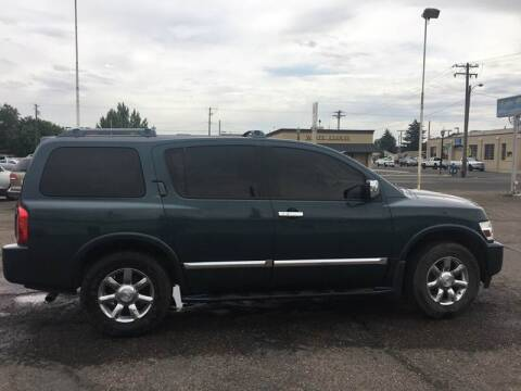 2004 Infiniti QX56 for sale at Major Motors in Twin Falls ID