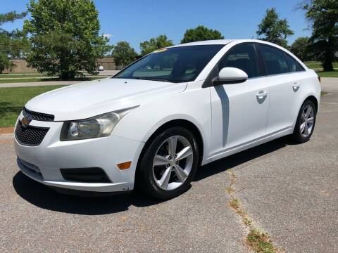 2012 Chevrolet Cruze for sale at COUNTRYSIDE AUTO SALES 2 in Russellville KY