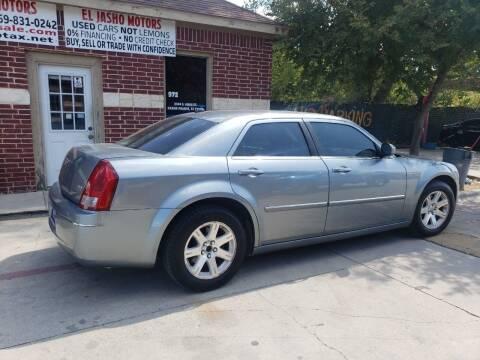2006 Chrysler 300 for sale at El Jasho Motors in Grand Prairie TX