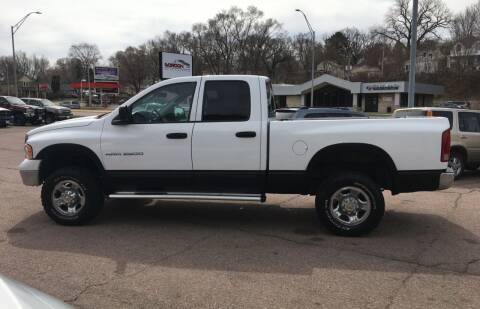 2003 Dodge Ram Pickup 2500 for sale at Gordon Auto Sales LLC in Sioux City IA