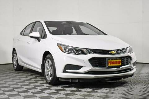 2017 Chevrolet Cruze for sale at Washington Auto Credit in Puyallup WA