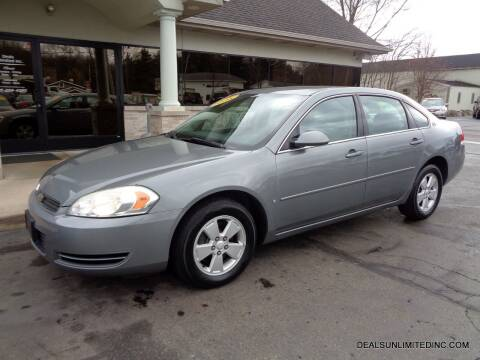 2008 Chevrolet Impala for sale at DEALS UNLIMITED INC in Portage MI