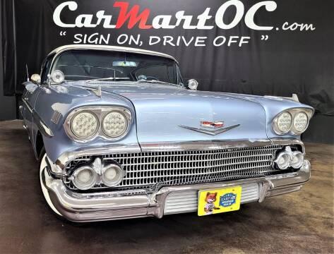 1958 Chevrolet Impala for sale at CarMart OC in Costa Mesa CA