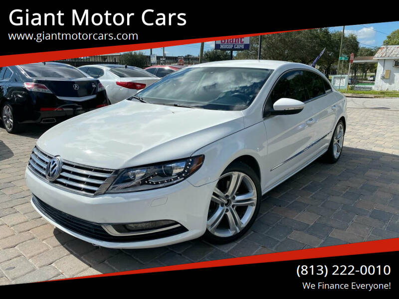 2013 Volkswagen CC for sale at Giant Motor Cars in Tampa FL