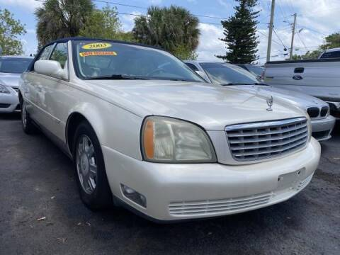 2003 Cadillac DeVille for sale at Mike Auto Sales in West Palm Beach FL