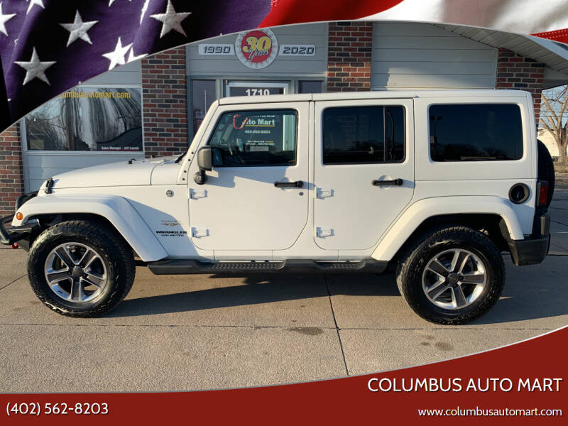 2013 Jeep Wrangler Unlimited for sale at Columbus Auto Mart in Columbus NE