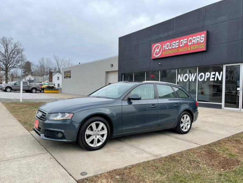 2011 Audi A4 for sale at HOUSE OF CARS CT in Meriden CT