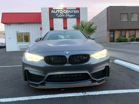 2016 BMW M4 for sale at Auto Center Of Las Vegas in Las Vegas NV