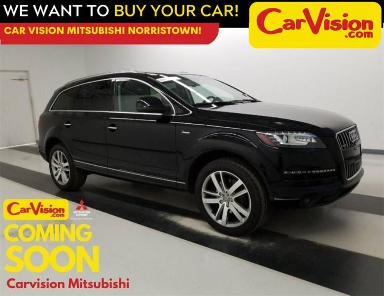 2015 Audi Q7 for sale at Car Vision Mitsubishi Norristown in Norristown PA