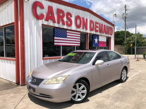 2007 Lexus ES 350 for sale at Cars On Demand 3 in Pasadena TX