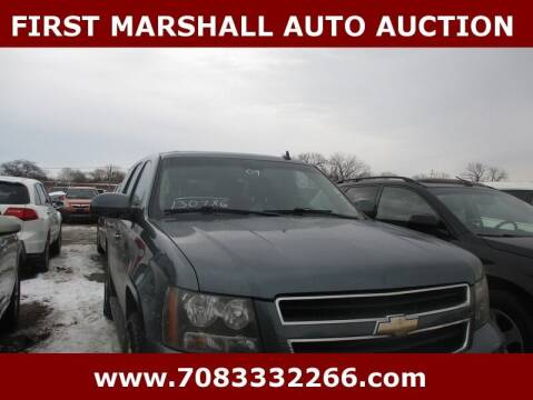 2009 Chevrolet Tahoe for sale at First Marshall Auto Auction in Harvey IL