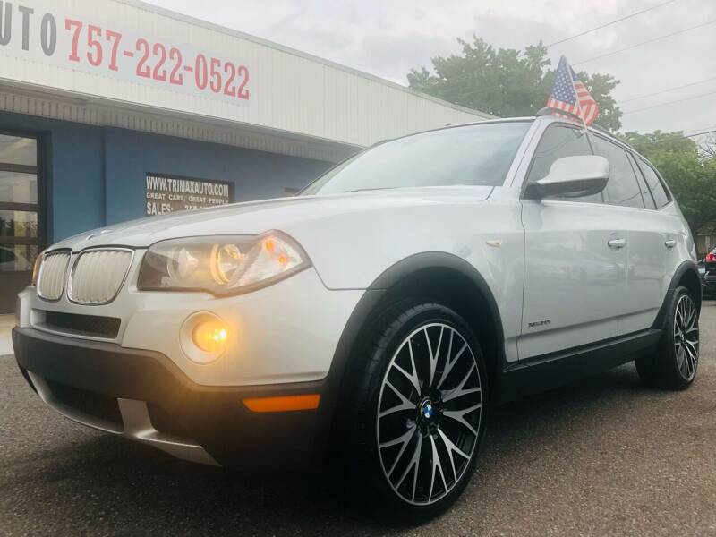 2010 BMW X3 for sale at Trimax Auto Group in Norfolk VA