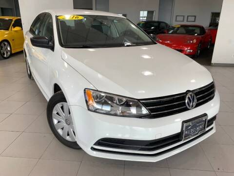 2016 Volkswagen Jetta for sale at Auto Mall of Springfield north in Springfield IL