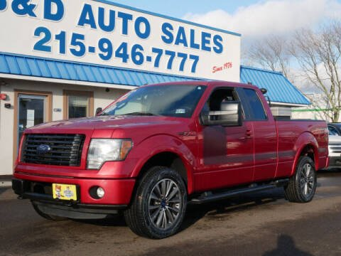 2012 Ford F-150 for sale at B & D Auto Sales Inc. in Fairless Hills PA