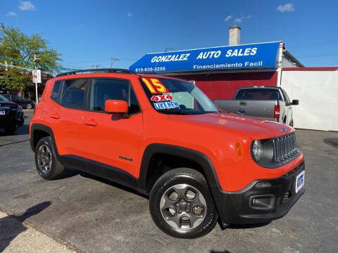 2015 Jeep Renegade for sale at Gonzalez Auto Sales in Joliet IL