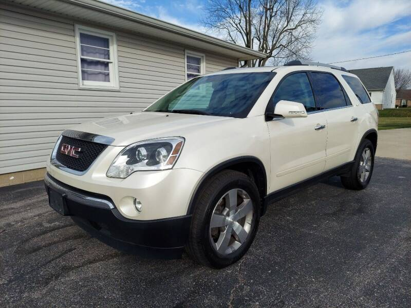 2012 GMC Acadia for sale at CALDERONE CAR & TRUCK in Whiteland IN