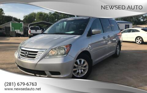 2009 Honda Odyssey for sale at Newsed Auto in Houston TX