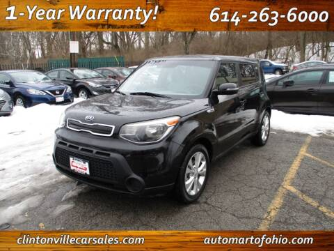2014 Kia Soul for sale at Clintonville Car Sales - AutoMart of Ohio in Columbus OH