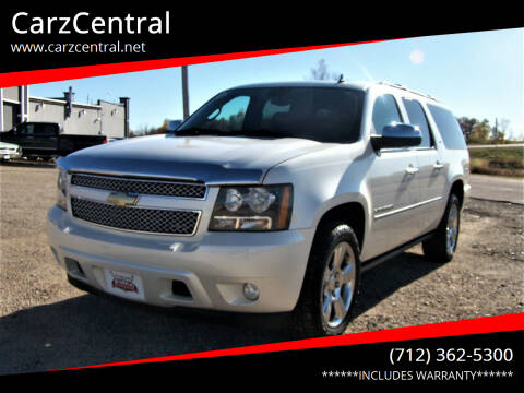 2010 Chevrolet Suburban for sale at CarzCentral in Estherville IA