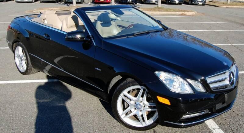 2012 Mercedes-Benz E-Class for sale at Bimmer Sales LTD in Great Falls VA