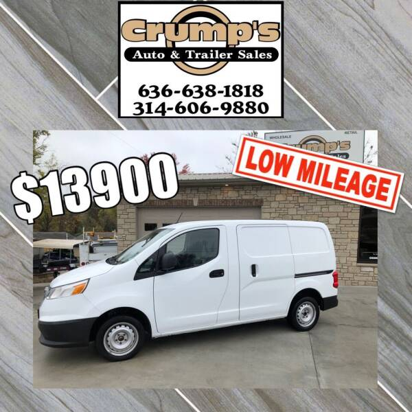 2015 Chevrolet City Express Cargo for sale at CRUMP'S AUTO & TRAILER SALES in Crystal City MO