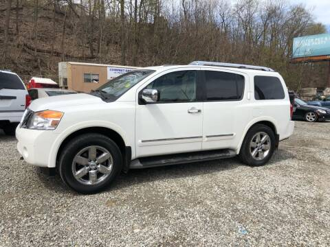 2011 Nissan Armada for sale at Compact Cars of Pittsburgh in Pittsburgh PA