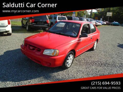 2001 Hyundai Accent for sale at Saldutti Car Corner in Gilbertsville PA