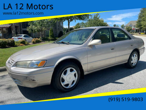 1997 Toyota Camry for sale at LA 12 Motors in Durham NC