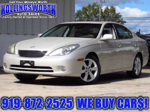 2005 Lexus ES 330 for sale at Hollingsworth Auto Sales in Raleigh NC