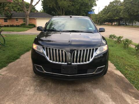 2014 Lincoln MKX for sale at RP AUTO SALES & LEASING in Arlington TX